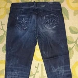 Siwy Denim Hannah Jeans Rapture Slim Dark Wash 29